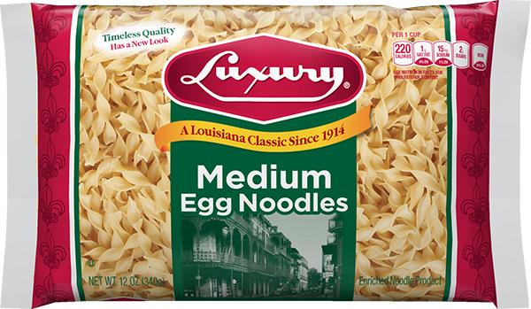 LUX_EGG_MED_N_12_3D_A Noodles & Ribbons