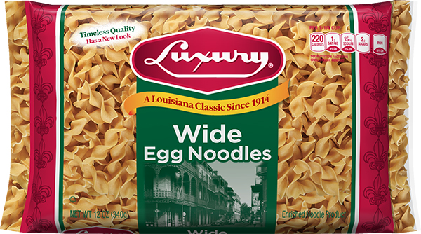 LUX_EGG_WID_N_12_3D_A Noodles & Ribbons