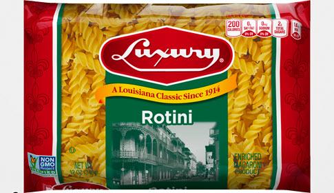 100-Rotini-485 100% Semolina Rotini